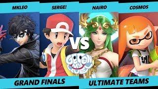 GOML 2019 SSBU - Nairo & Cosmos Vs. MkLeo & Serge - Smash Ultimate Tournament Grand Finals
