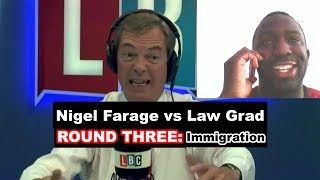 Nigel Farage vs Law Grad: Immigration
