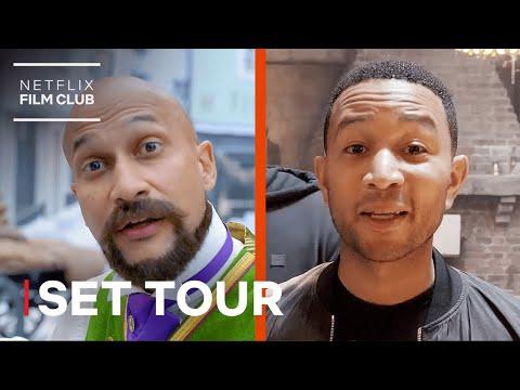 Jingle Jangle's John Legend & Keegan-Michael Key Take You on a Set Tour | Netflix