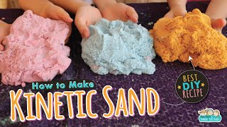 The Best DIY Kinetic Sand Recipe for Kids  Science Crafts for Kids