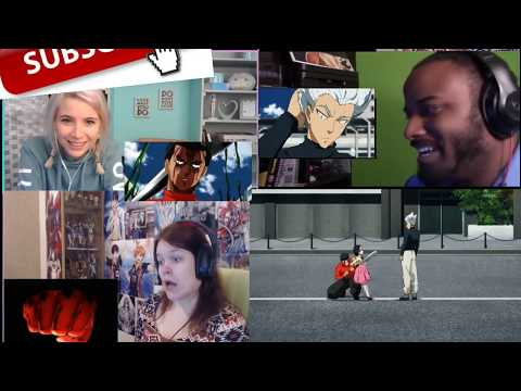Garou Vs Metal Bat Reaction Mashup | One Punch Man Season 2