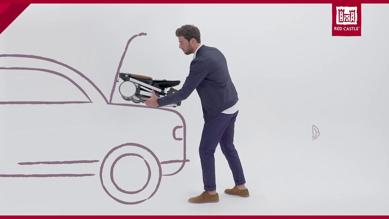 CityLink™ III Stroller   Red Castle