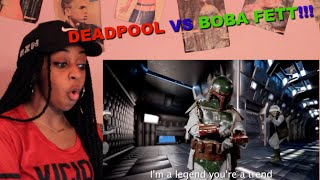 Couple Reacts : Epic Rap Battle Of History Deadpool Vs Boba Fett!!! LOL