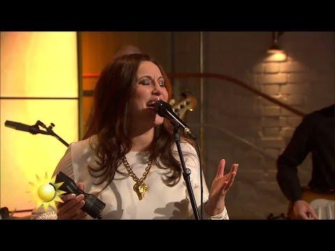 Lisa Nilsson - Himlen runt hörnet (Live) - Nyhetsmorgon (TV4)