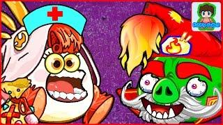 Игра Angry Birds Epic от Фаника злые птички эпик 4