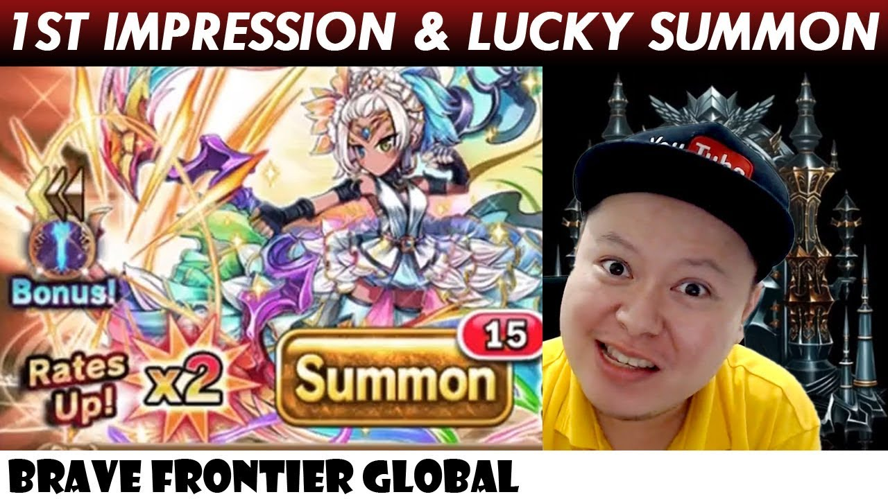 Fionna The Light Vortex Unit 1st Impression & Rare Summon (Brave Frontier  Global)