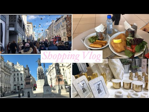 Lets go shopping! | Oxford Street shopping vlog | Bangladeshi Mum UK