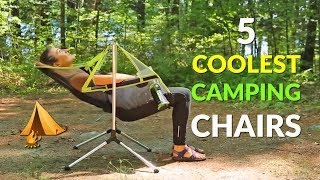5 Coolest Camping Chairs
