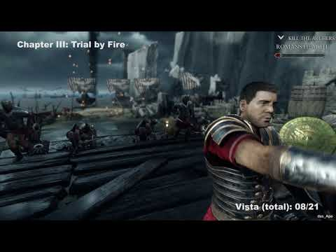 Ryse: Son of Rome - All Vistas Locations Guide - All Chapters