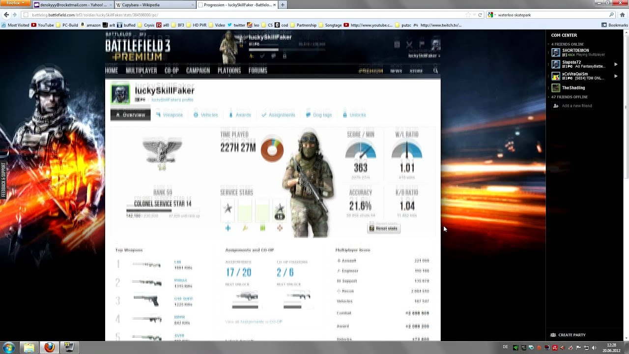 Bf3 Stats