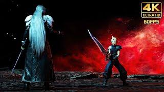 Final Fantasy VII Remake: Intergrade (PS5) - Cloud vs Sephiroth FINAL BOSS FIGHT @ @ 4K 60ᶠᵖˢ