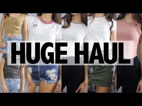 BACK TO SCHOOL CLOTHING TRY-ON HAUL   Mercades Danielle