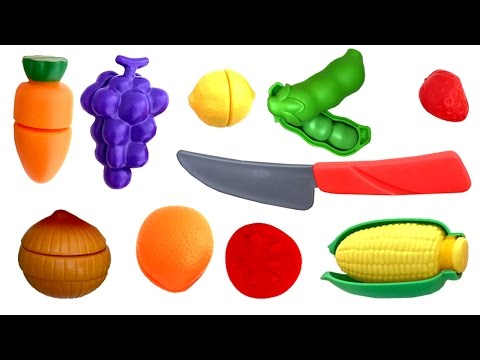 Thumbnail: Deluxe Slice and Play Food Set Play Doh Fried Eggs Cooking Set Toy Kitchen Cutting Fruits Toy Food