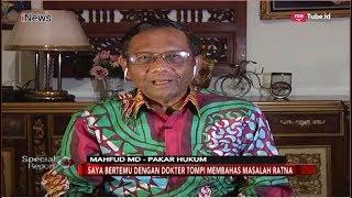 Download Video Mahfud MD Jabarkan Hukum Pidana yang akan Menjerat Ratna Sarumpaet - Special Report 05/10 MP3 3GP MP4