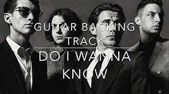 Do I Wanna Know (Arctic Monkeys) || Guitar Backing Track (VOCALS, Bass, Drums)