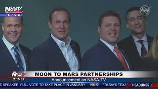 MOON TO MARS: Partnerships with U.S. Companies Announcement on NASA-TV
