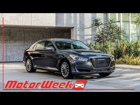 MotorWeek First Look 2017 Genesis G90