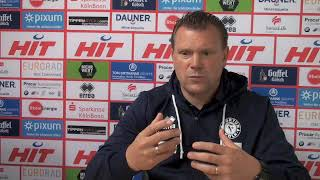 Fortuna TV - Uwe Koschinat nach dem Spiel gegen Uerdingen