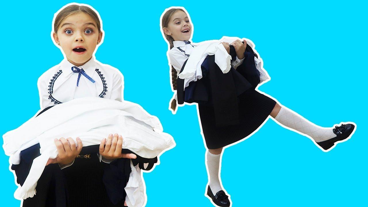 Cu ce ma IMBRAC la SCOALA | Jasmina Show Back to SCHOOL