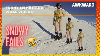 Snowy Fails Compilations 😂 Must See | Viral |