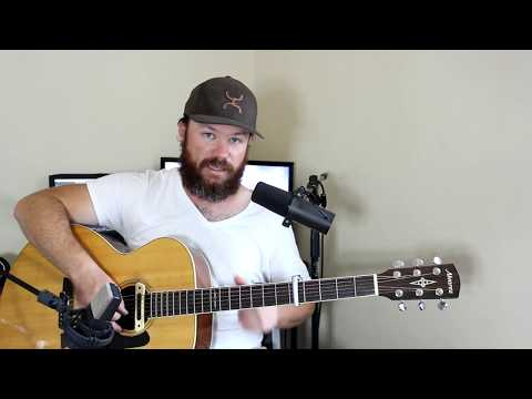 "How to play ""Yours to Hold"" by Brett Young (Guitar)"