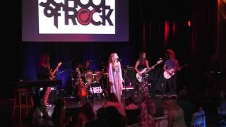 Virginia Beach School of Rock House Band, opening for Britton Buchanan - Simple Man