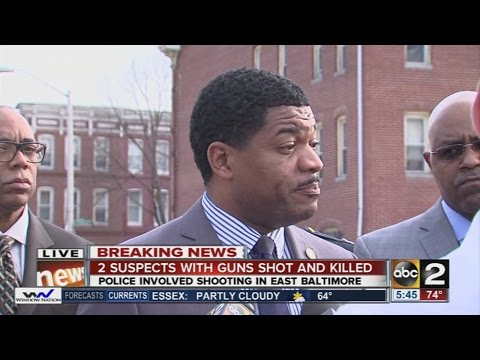 2nd suspect dead in E. Baltimore police-involved shooting