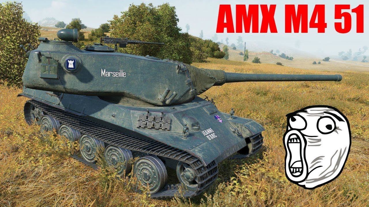 Pokaż co potrafisz !!! #1061 – AMX M4 mle. 51 – Francuski Twardziel
