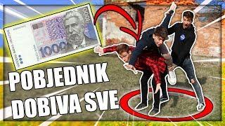 TKO ZADNJI OSTANE U KRUGU OSVAJA 1000 KN | TheSikrt, 10ficho & Bruno Lukić
