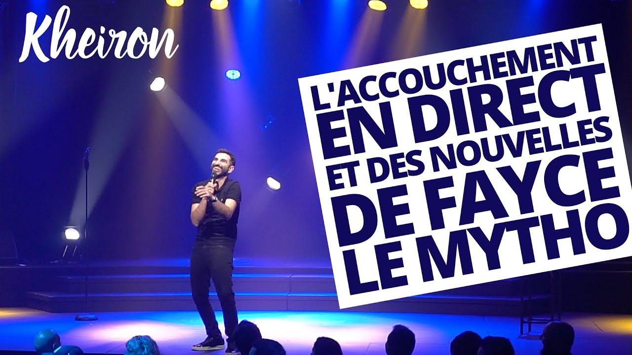 ***** Laccouchement En Direct Et Des Nouvelles De Fayce Le Mytho - 60 Minutes Avec Kheiron *****