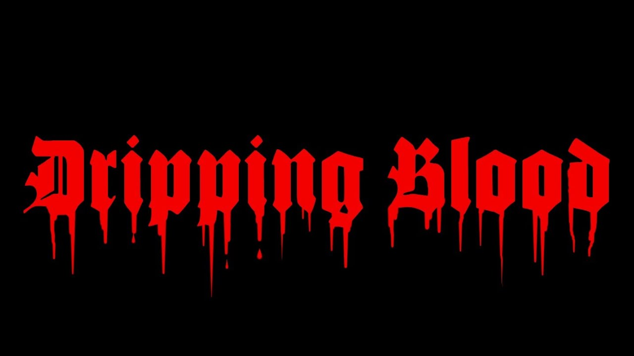 Dripping Blood Text Effect Gimp 2 8 Tutorial Youtube