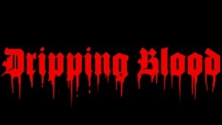 Dripping Blood Text Effect - GIMP 2.8 Tutorial