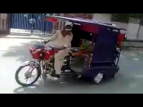 FUNNY VIDEOS – AMAZING AUTO RICKSHAW STUNT