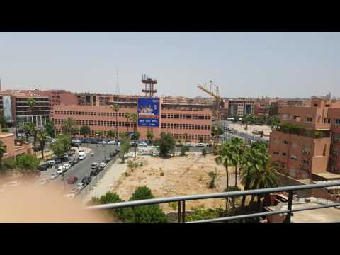Hotel Almas Marrakech Morocco roof top pool - Sunnah Treks