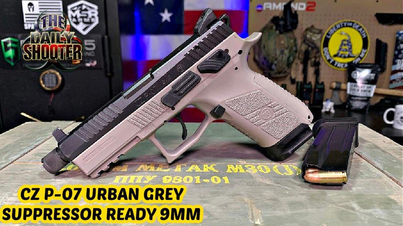 CZ P-07 Urban Grey Suppressor Ready Review