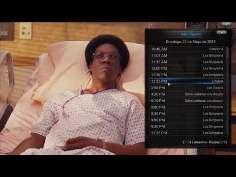 Canales de TV paga por IPTV en Kodi + MPV Player
