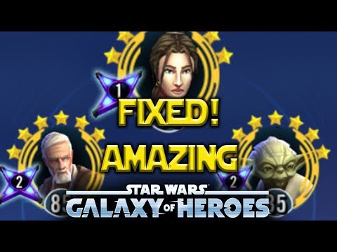 Bastila Shan FIXED! Jedi Are AMAZING Now - Star Wars: Galaxy Of Heroes - SWGOH