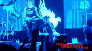 Hollywood Undead - Everywhere I Go - Live @ Buried Alive Tour, Ft. Wayne, Indiana 11/30/2011