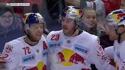 EBEL, 38. Runde: EC Red Bull Salzburg - Vienna Capitals 3:2 OT