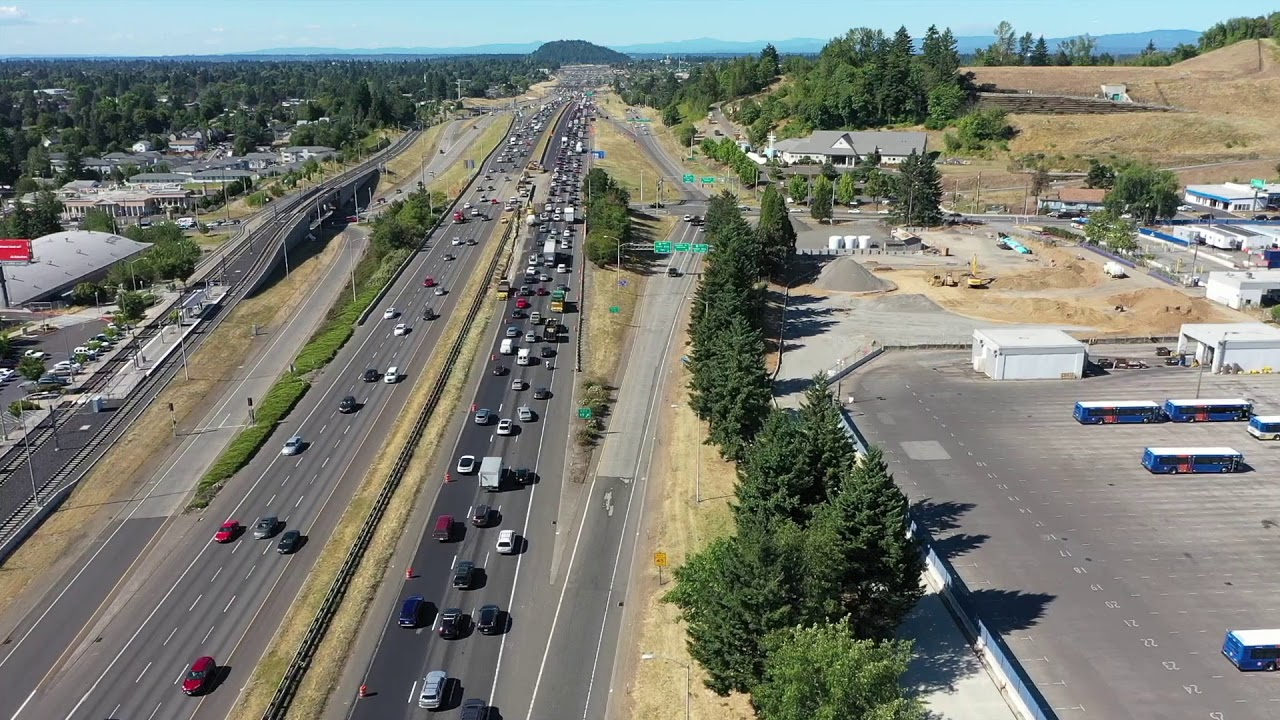 Weekend Closure: I-205 NB Foster To I-84 | KXL