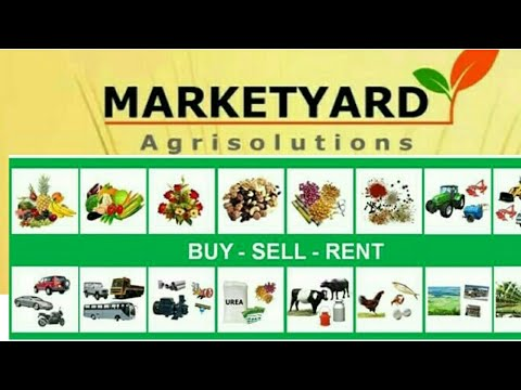 MARKETYARD AGRI SOLUTION || Sell Agricultural  product  online