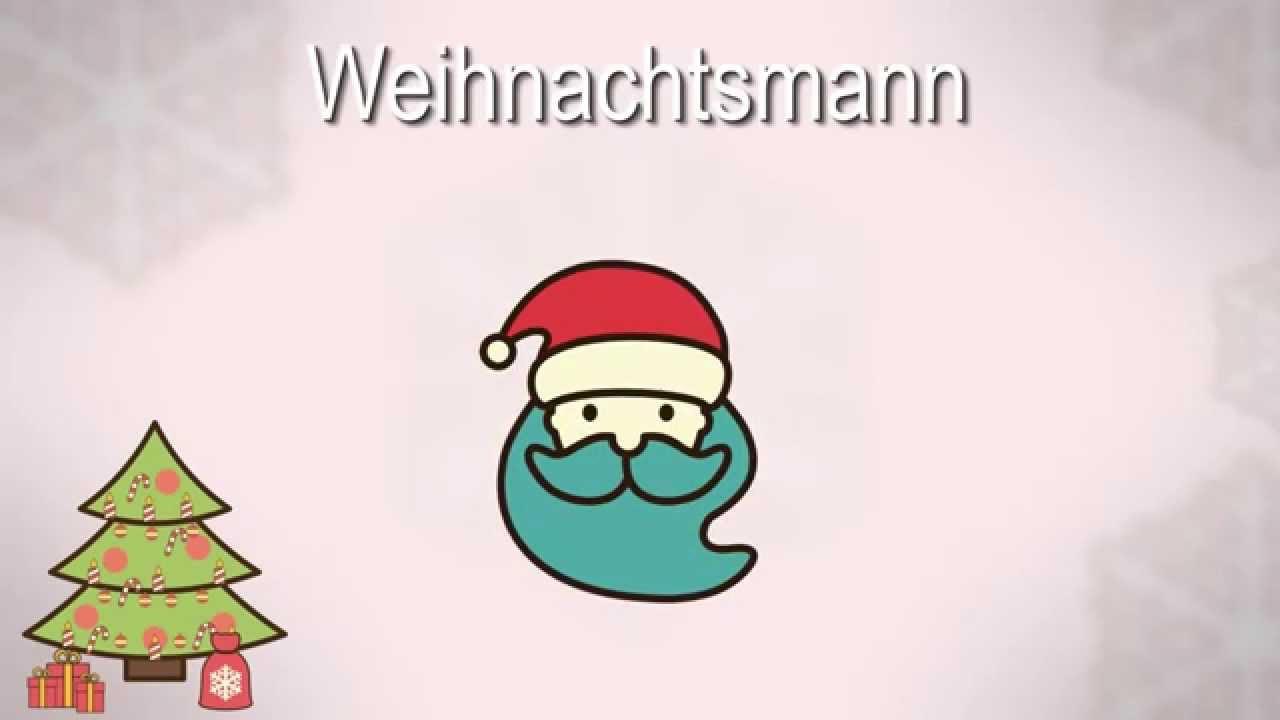 Weihnachten Wörter