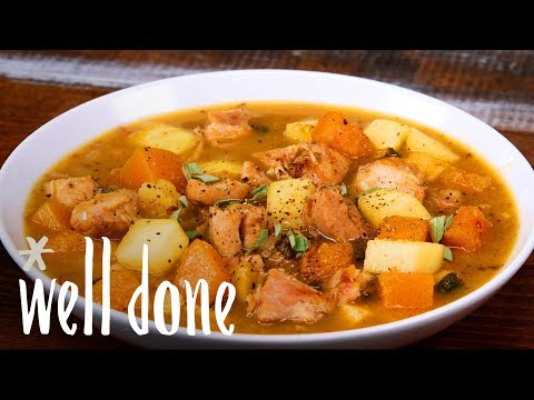 Chicken, Apple And Butternut Squash Stew: Basically Fall In A Bowl | Recipe | Well Done