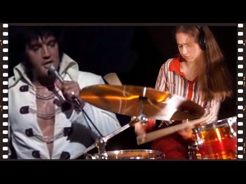 Sina jamming with Elvis: Polk Salad Annie • Drum Cover by Sina
