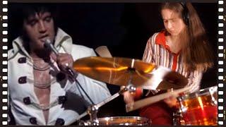 Sina jamming with Elvis: Polk Salad Annie • Drum Cover by Sina