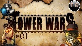 Tower Wars co-op gameplay