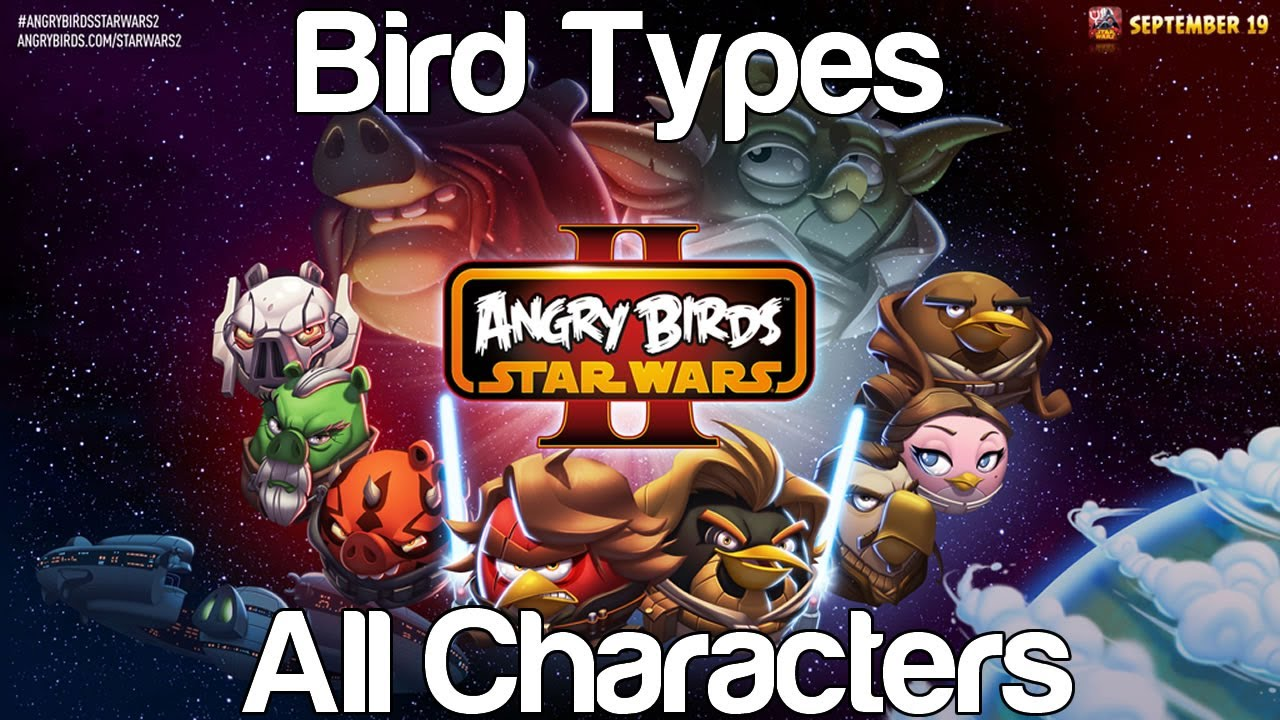 angry birds star wars 2 videos