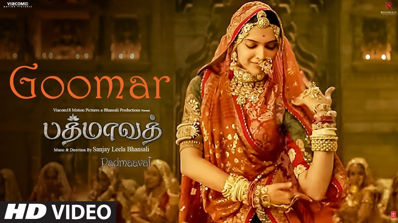 Download Goomar Video Song | Padmaavat Tamil Songs | Deepika Padukone, Shahid Kapoor, Ranveer Singh