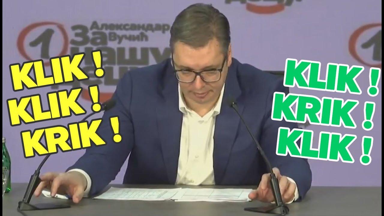 Vučić pred početak konferencije i pauza za WC