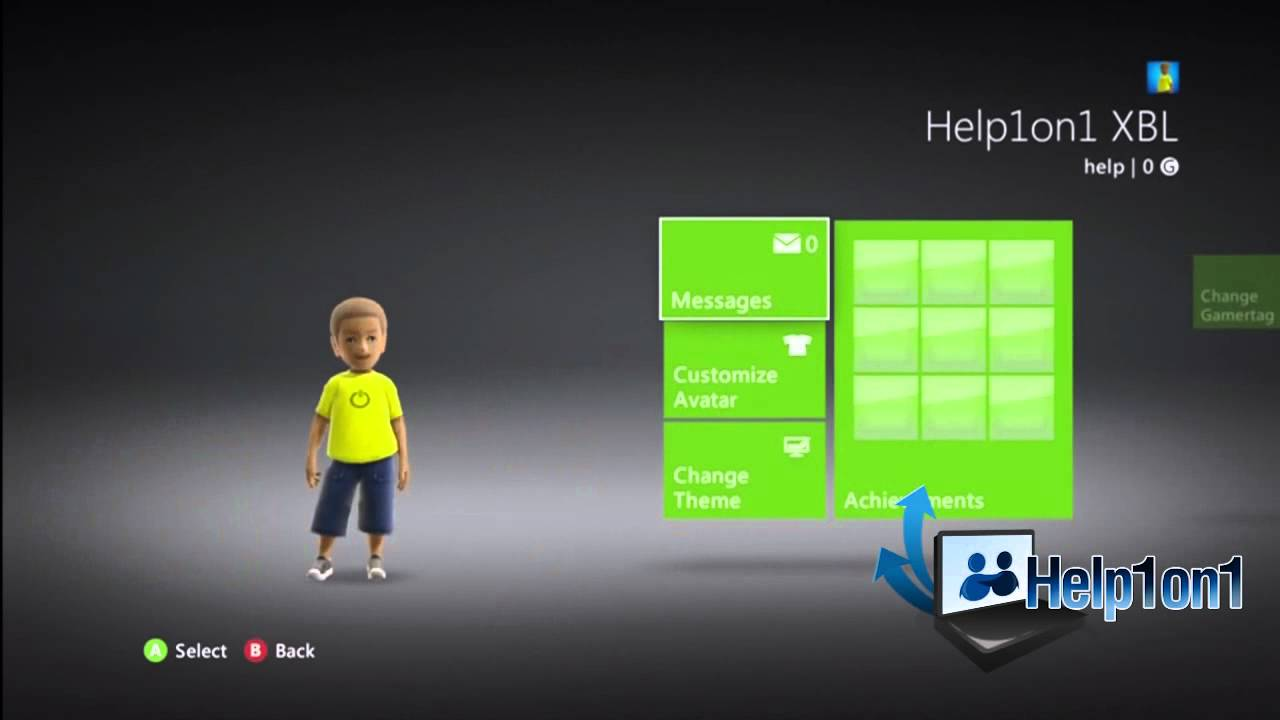 How To Change Themes On Your Xbox 360 Youtube